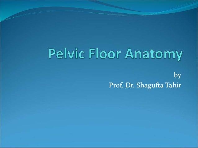 by Prof. Dr. Shagufta Tahir