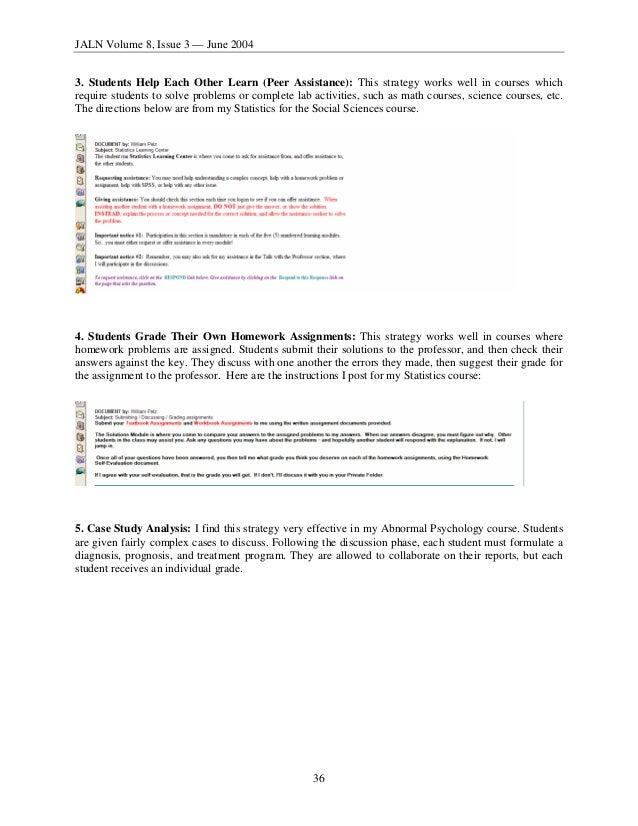 MY) THREE PRINCIPLES OF EFFECTIVE ONLINE PEDAGOGY