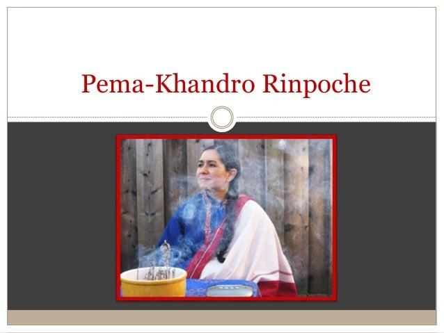 Pema-Khandro Rinpoche