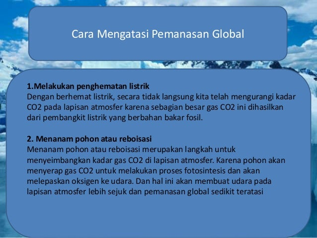 Pemanasan Global Georafi