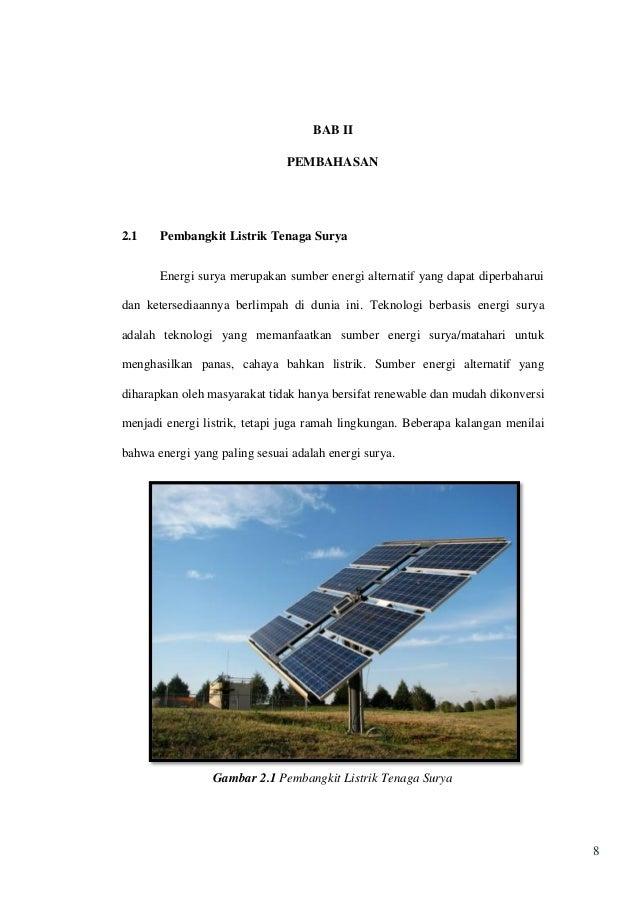 Pemanfaatan Teknologi Hybrid Berbasis Energi Surya Dan Angin