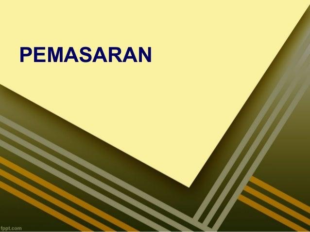 PEMASARAN