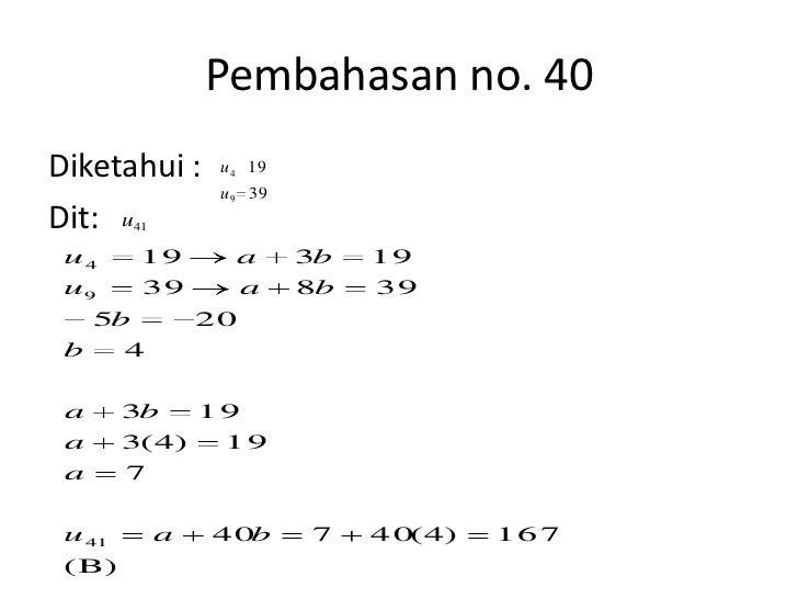 Soal Uan Matematika Tehnik Smk Beserta Pembahasannya