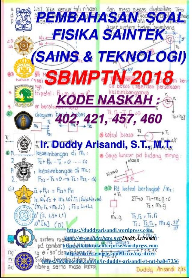 Ir. Duddy Arisandi, S.T., M.T. https://duddyarisandi.wordpress.com. http://www.slideshare.net/DuddyArisandi https://datekn...