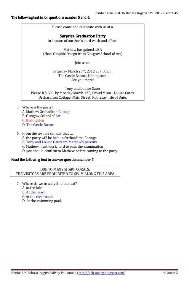 Contoh Surat Pribadi Tentang Liburan Semester of Contoh soal tentang teks eksposisi