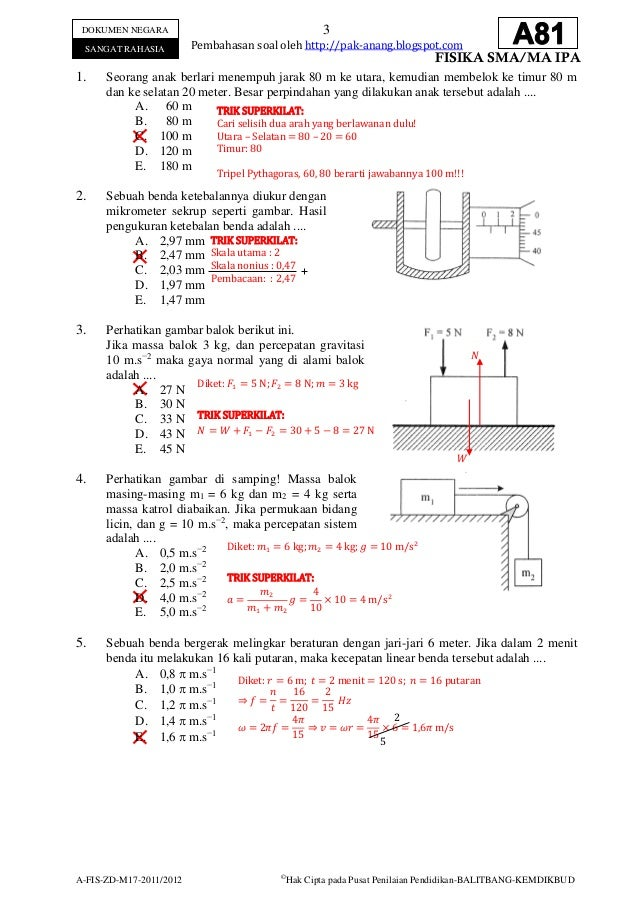 Soal Fisika Sd Contoh Soal Un Fisika Sma Beserta Pembahasannya Pidlists Bank Soal Matematika