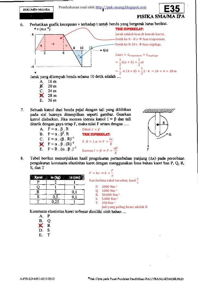 Soal Fisika Sd Kelas 5 Latihan Soal Ulangan Kenaikan Kelas 3 Sd Kumpulan Bank Soal Soal Soal