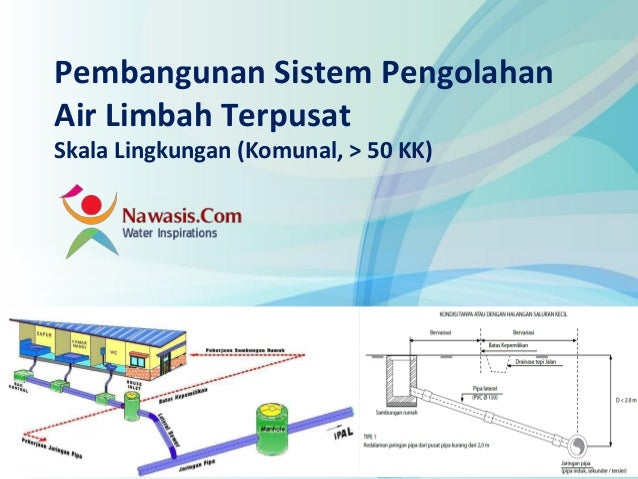 www.nawasis.comPembangunan Sistem PengolahanAir Limbah TerpusatSkala Lingkungan (Komunal, > 50 KK)