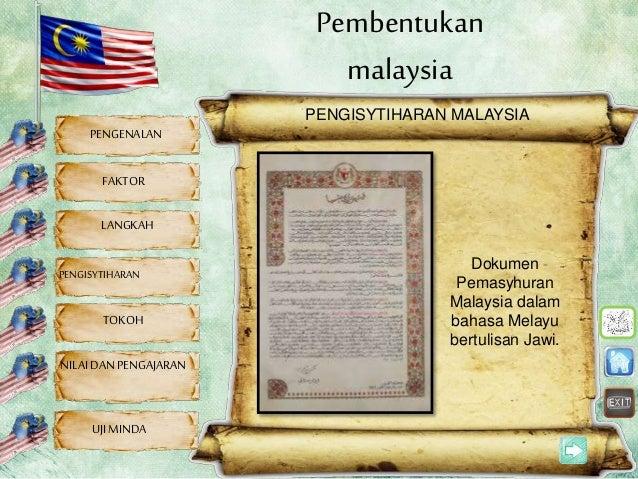 Pembentukan Malaysia Sejarah Tahun 6