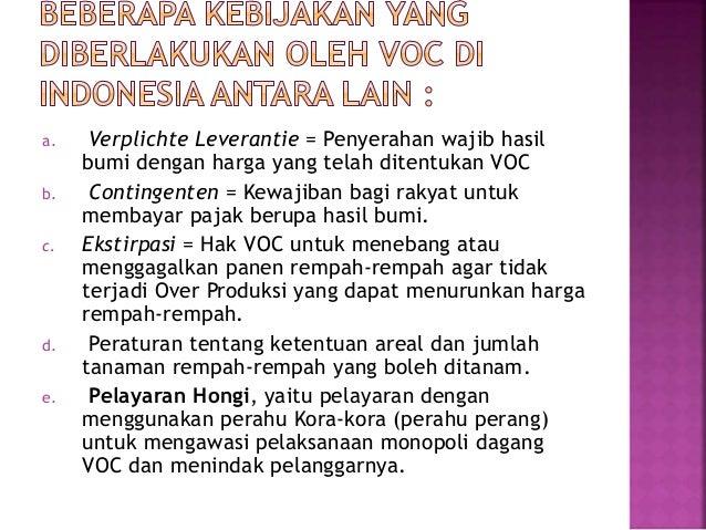 Pembentukan voc