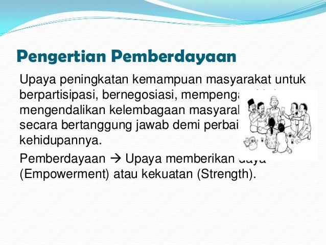 Pemberdayaan masyarakat di bidang kesehatan.8 Slide 2
