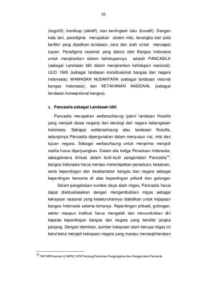 11  seluruh rakyatnya secara berkeadailan, sesuai dengan sila ke lima dari Pancasila. b. UUD NRI 1945 sebagai Landasan Kon...