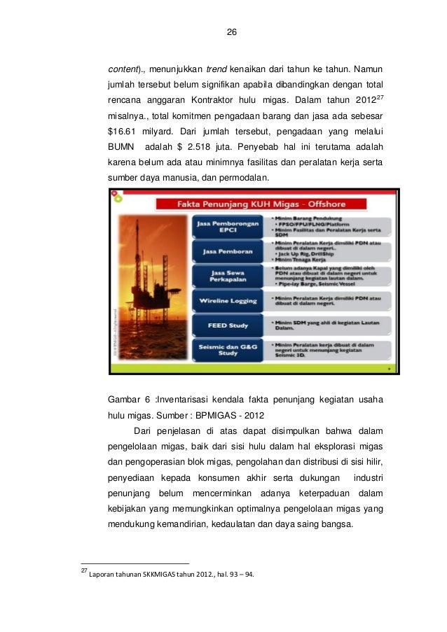 27  13. Implikasi  Pemberdayaan  Perusahaan  Nasional  di  Bidang  Pengelolaan Migas terhadap Kemandirian dan Daya Saing B...