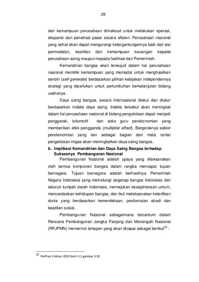 30  Gambar 7 : Pentahapan Pembangunan RPJPN Sumber : Dokumen MP3EI Dari pentahapan di atas, jelaslah bahwa pemberdayaan pe...