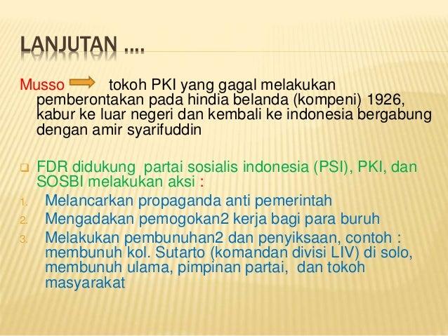 Strategi Nasional Dalam Menghadapi Peristiwa Madiun/PKI