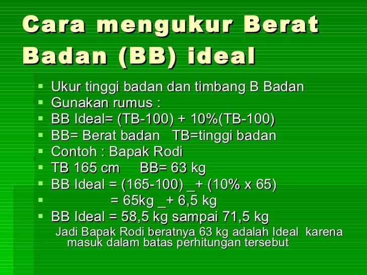 Kalau tinggi 160 cm & berat badannya 45 kg itu termasuk ideal ga? Thanks y?