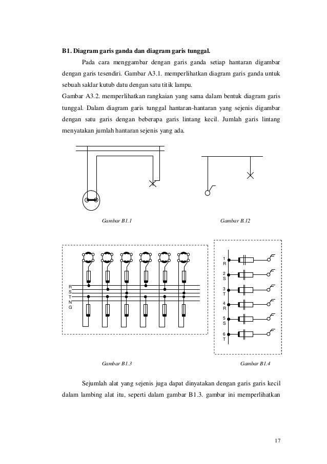 Pemeliharaan dan perbaikanrangkaianlistrik 16 17 b1 diagram garis ganda dan diagram garis tunggal ccuart Images