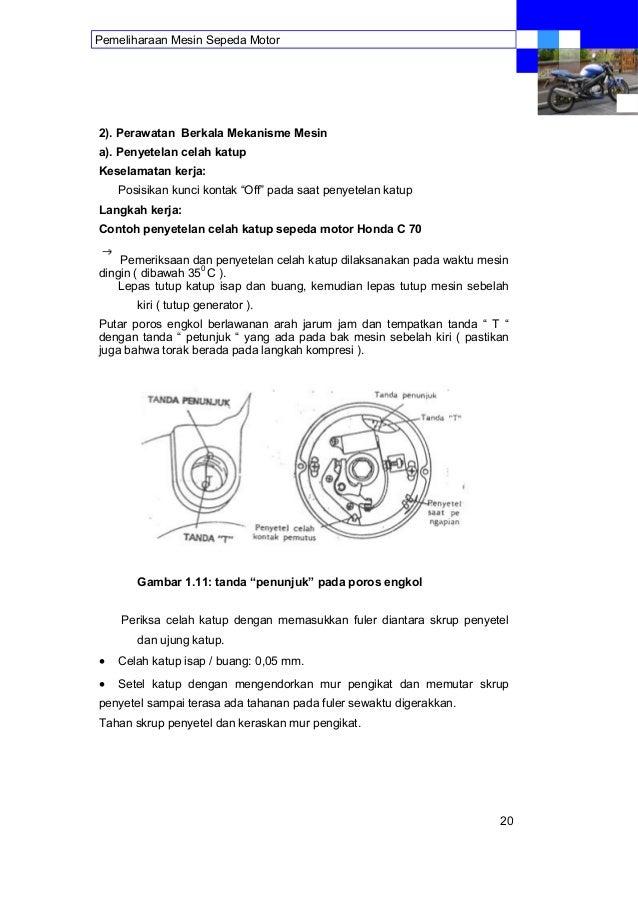 Pemeliharaan Mesin Sepeda Motor