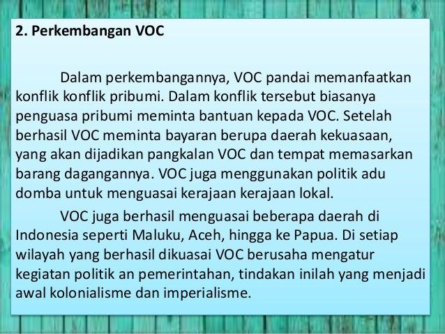 sejarah indonesia Pemerintahan kolonial belanda