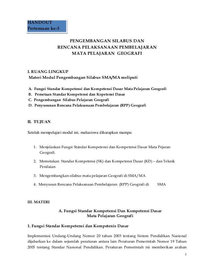 Contoh Handout Rpp Download Gambar Online