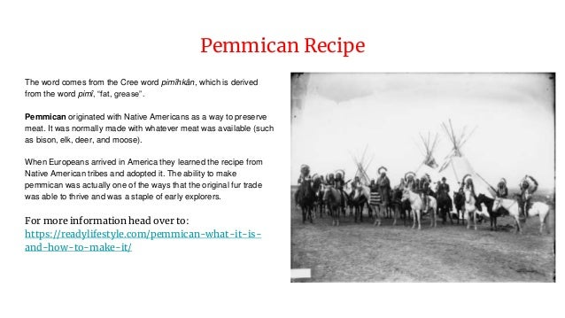 Pemmican - What it is and How to Make It
