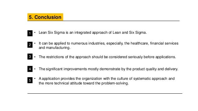 a lean six sigma case study an application of the 5s techniques Lean sigma combines the variability reduction tools and techniques from six sigma with the implementing the lean sigma six sigma, lean, case study.