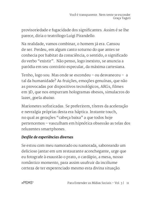 Para Entender as Mídias Sociais – Vol. 3   12 Brand experience, Brand Sensations, Brand Advertainment – a sensorialidade, ...