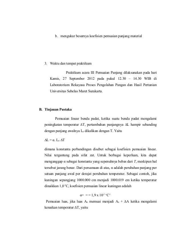 Itp Uns Semester 1 Laporan Fisika Pemuaian Panjang