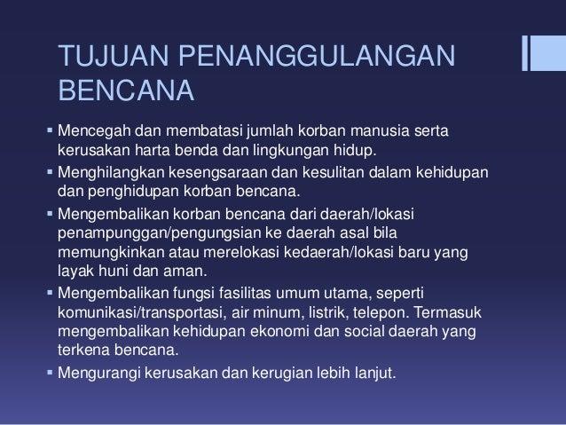 Penanggulangan bencana terpadu by Maria Haryanti Butarbutar Slide 3