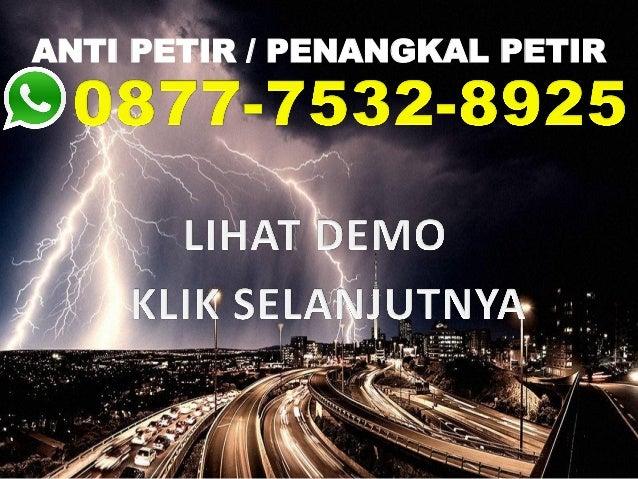 ANTI PETIR / PENANGKAL PETIR