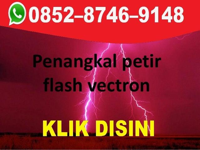 Penangkal petir flash vectron