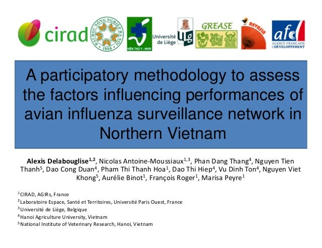 A participatory methodology to assessthe factors influencing performances ofavian influenza surveillance network inNorther...