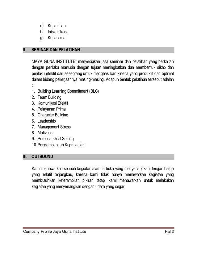 Proposal Penawaran jasa psikologi untuk sekolah dan perusahaan
