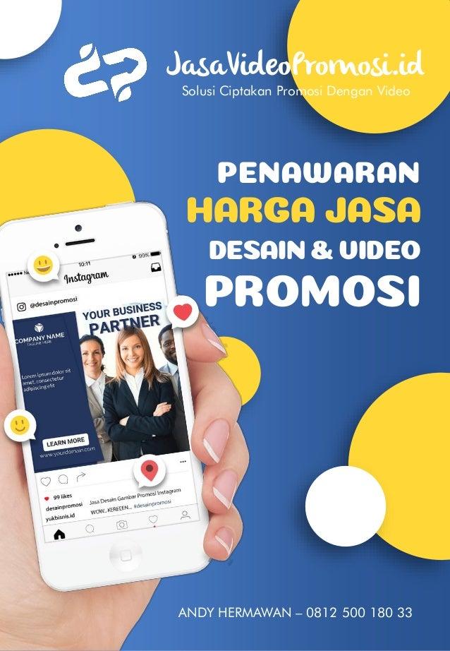 Proposal Penawaran Jasa Video Promosi Dari Desainpromosi Id