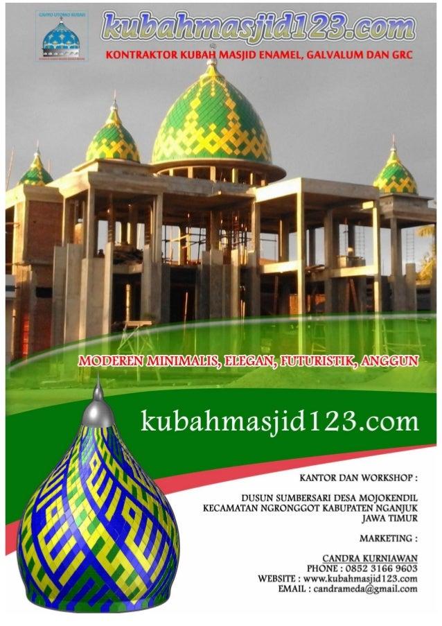 www.kubahmasjid123.com by cahyoutomo kubah all right reserve PERIHAL : PENAWARAN NO : .......................................