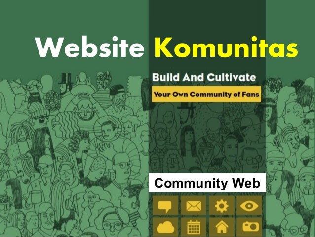 Website Komunitas  Community Web
