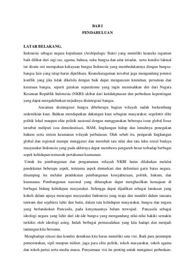 BAB I PENDAHULUAN  LATAR BELAKANG. Indonesia sebagai negara kepulauan (Archipelagic State) yang memiliki keaneka ragaman b...