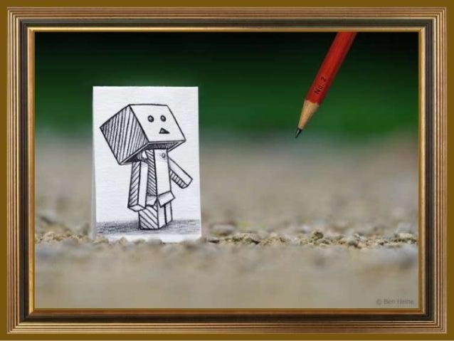 Pencil vs camera by ben heine (v.m.)