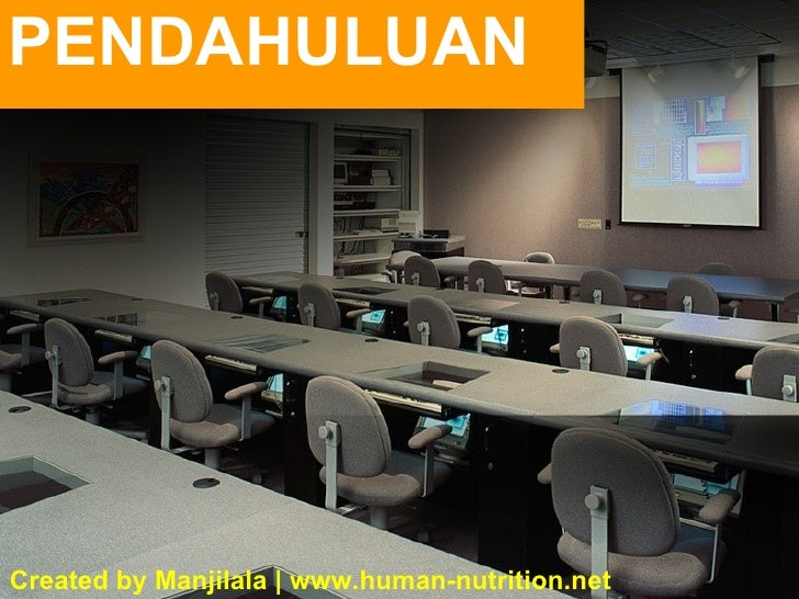 PENDAHULUAN Created by Manjilala | www.human-nutrition.net