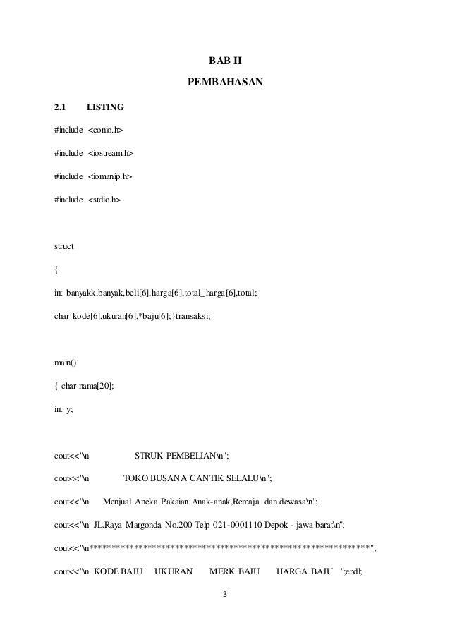 Pendahuluan Pembahasan Penutup Dan Daftar Pustaka Makalah Algoritma