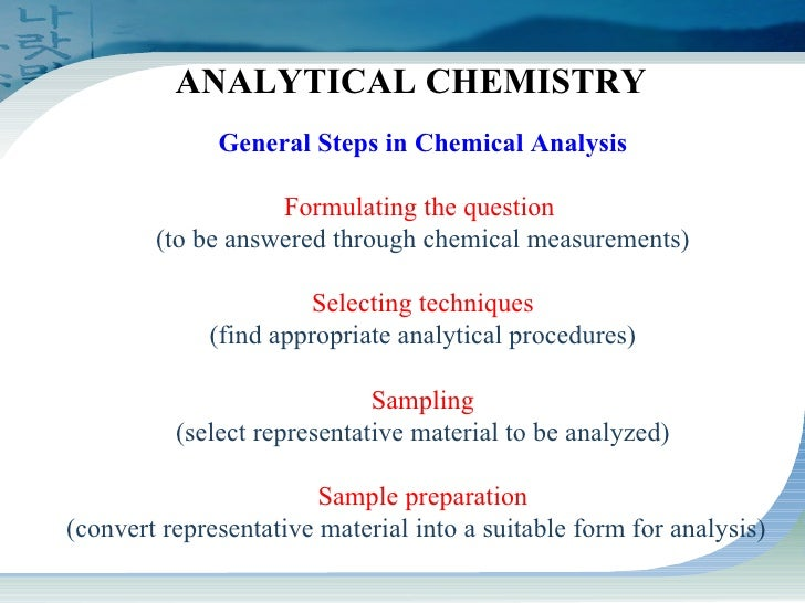 sample preparation techniques in analytical chemistry pdf