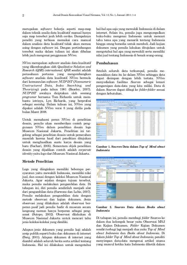 Pendekatan Analisis Data Menggunakan  Nvivo Slide 2
