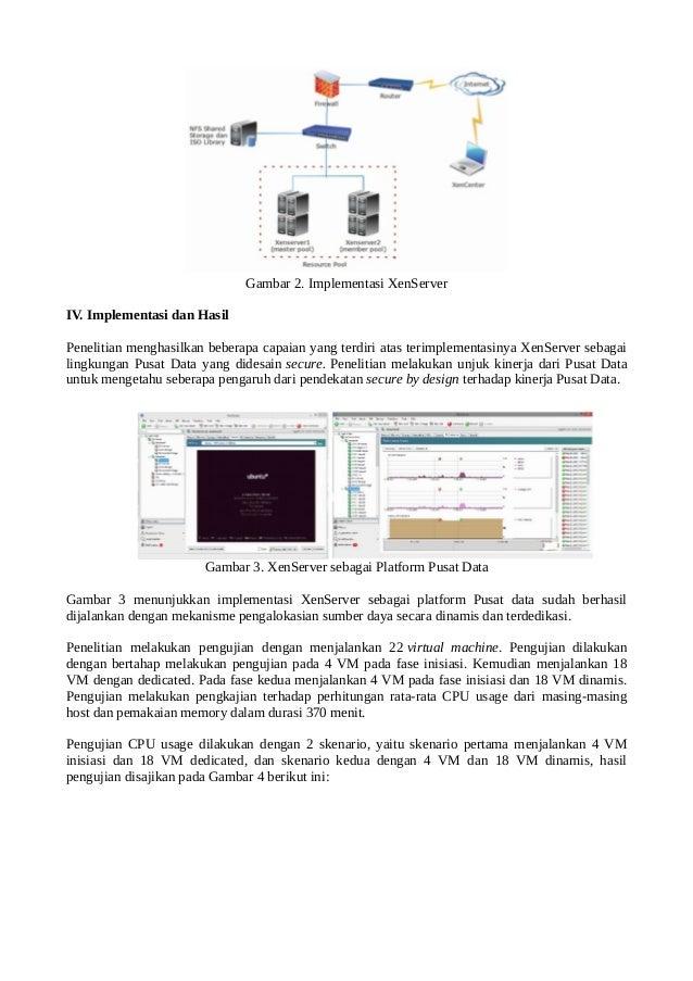 Pendekatan secure by design pada cluster resource for Xenserver pool design