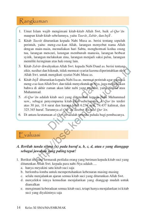 Soal Dan Jawaban Agama Islam Kelas Xi Semester 2