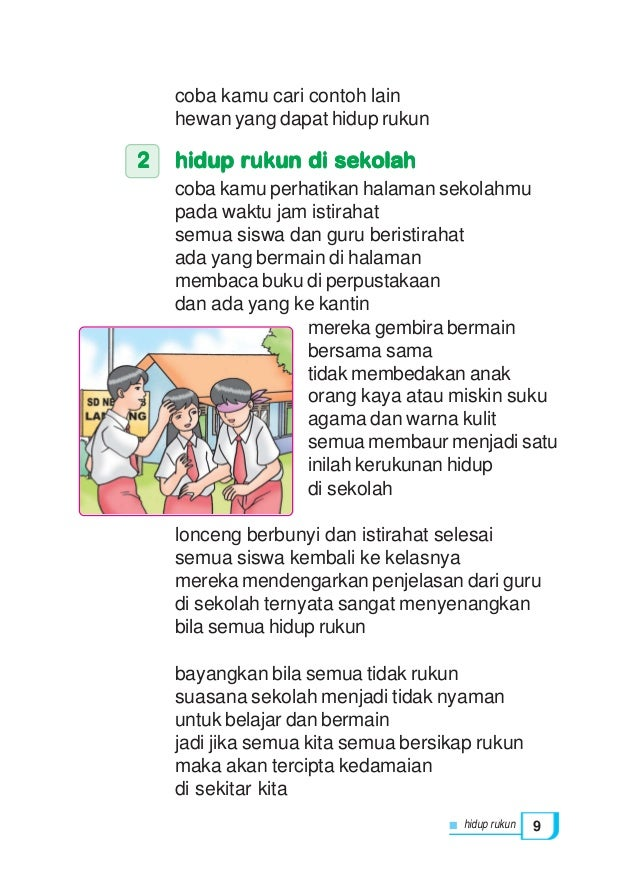 Pendidikan Kewarganegaraan Kls2