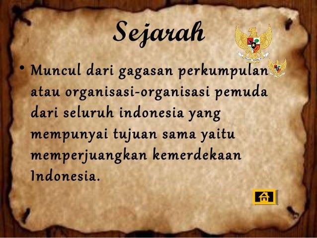 Organisasi Pemuda          (bersifat kedaerahan)1. Jong Batak , yaitu (Perkumpulan para pemuda Batak).2. Jong Java , yaitu...