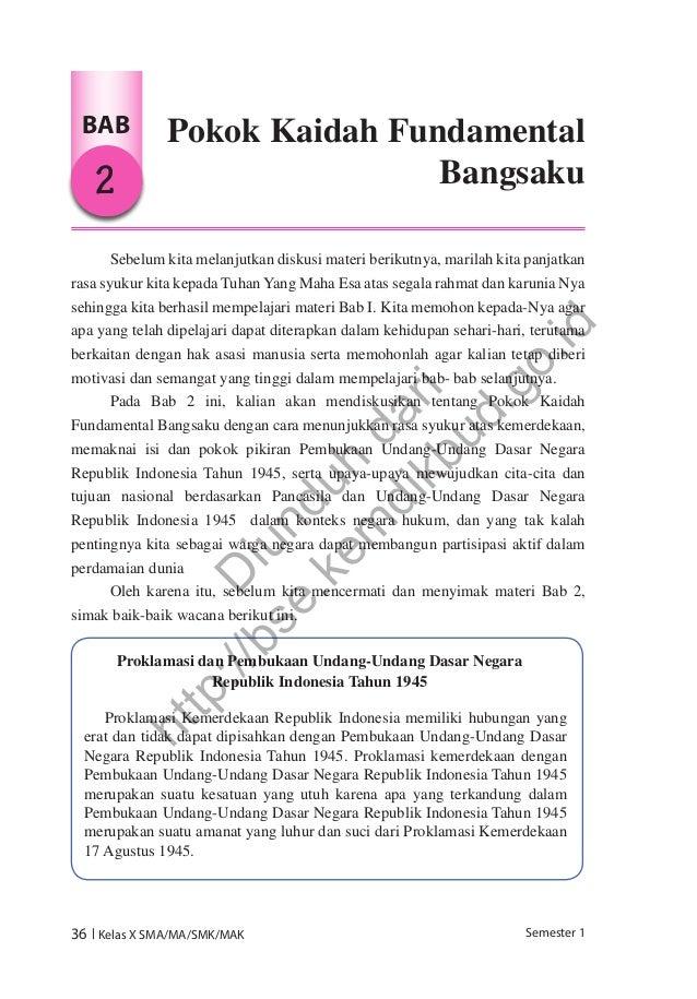 Pendidikan pancasila dan kewarganegaraan (buku siswa)