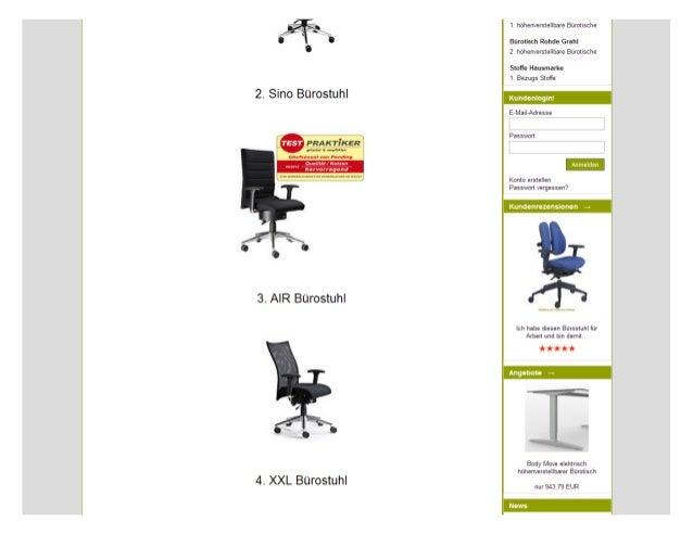 Pending Bürostühle Slide 2