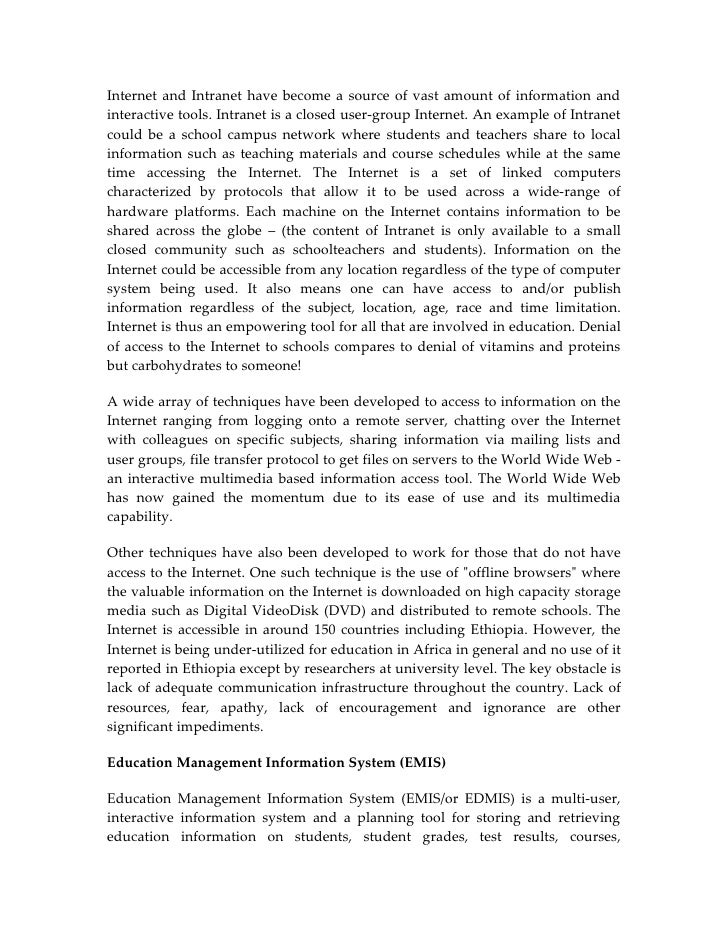pendix teachers essay on ict  7