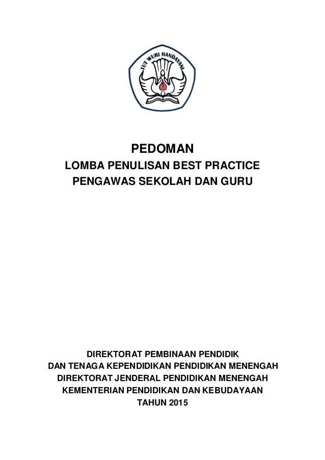 Contoh Judul Best Practice Guru Tk Barisan Contoh